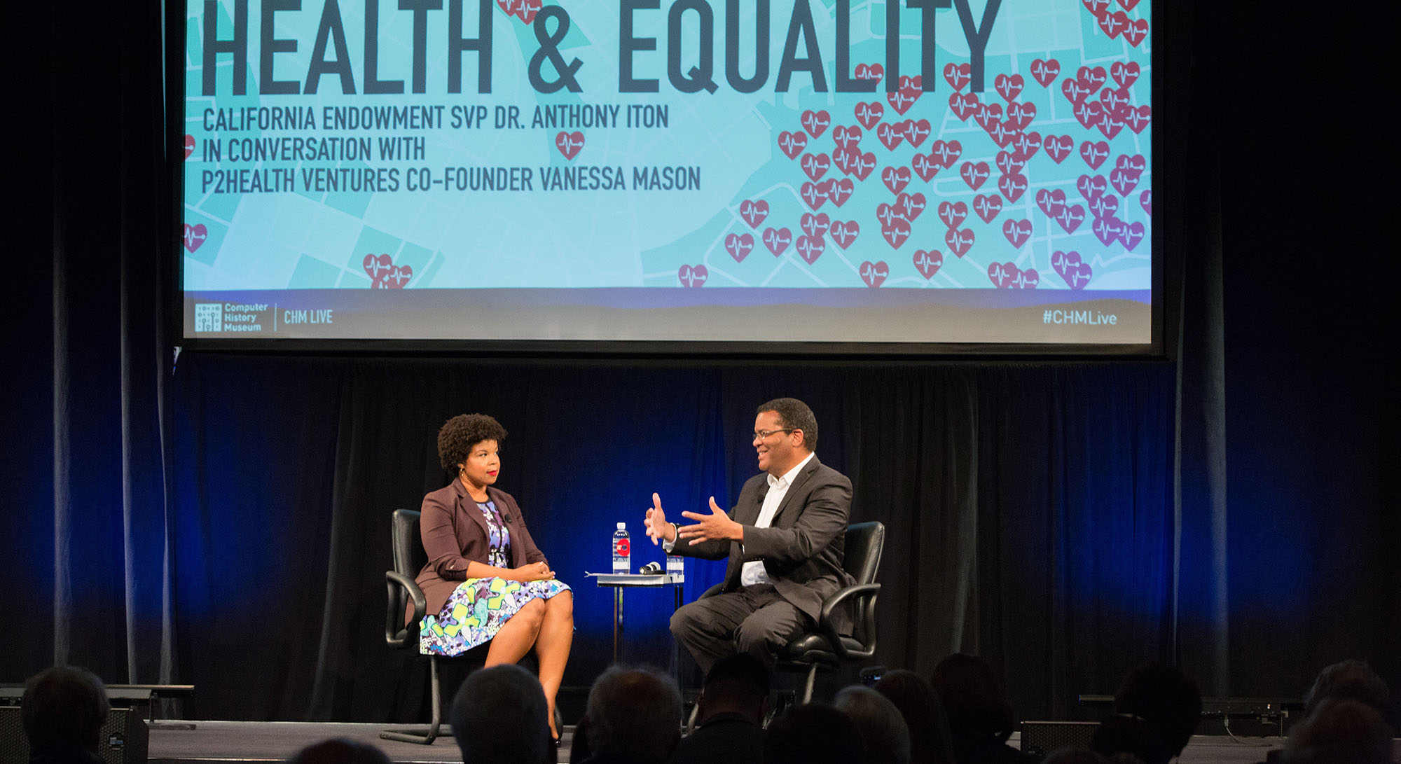 California Endowment SVP Anthony Iton and P2Health Ventures' Vanessa Mason explore the intersection of health, technology, and equality.