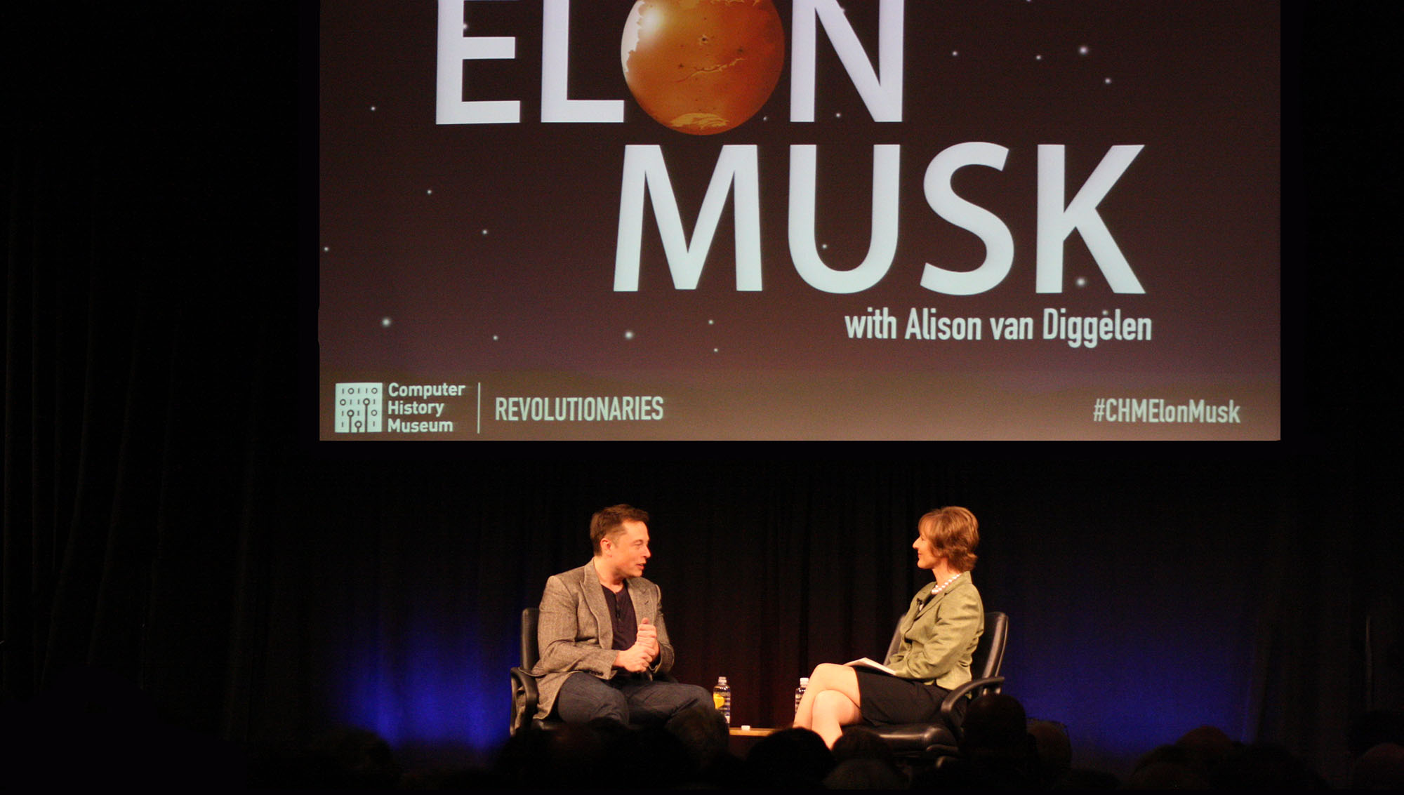 SpaceX's Elon Musk discusses his journey from South Africa to Silicon Valley and why the future for mankind may be a self-sustaining base on Mars.
