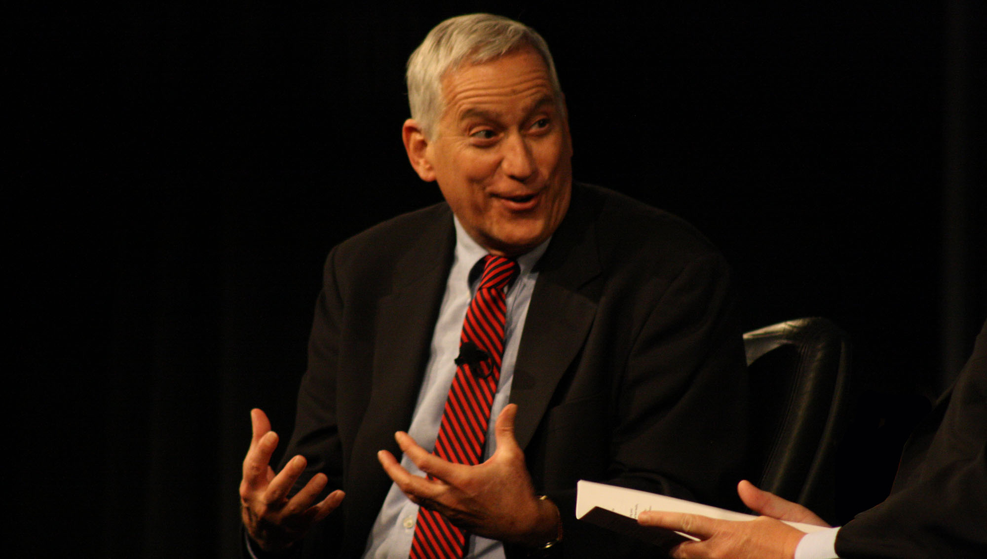 Walter Isaacson shares insights from his 2011 book Steve Jobs, based on more than 40 interviews with Jobs.