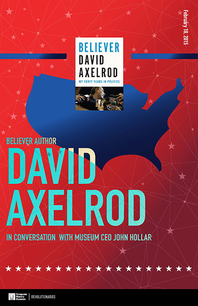 Believer Author David Axelrod in Conversation with Museum CEO John Hollar