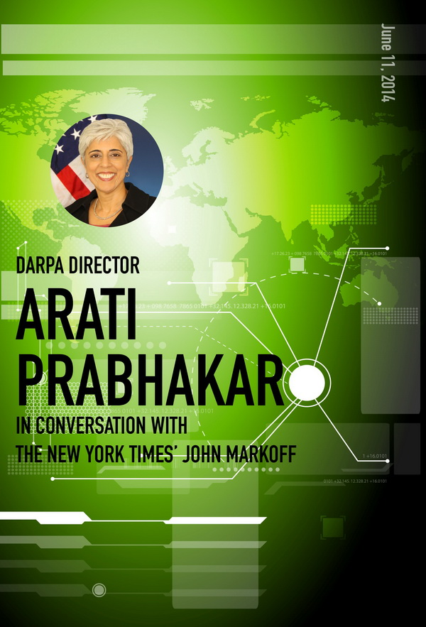 DARPA Director Arati Prabhakar in Conversation with The New York Times' John Markoff