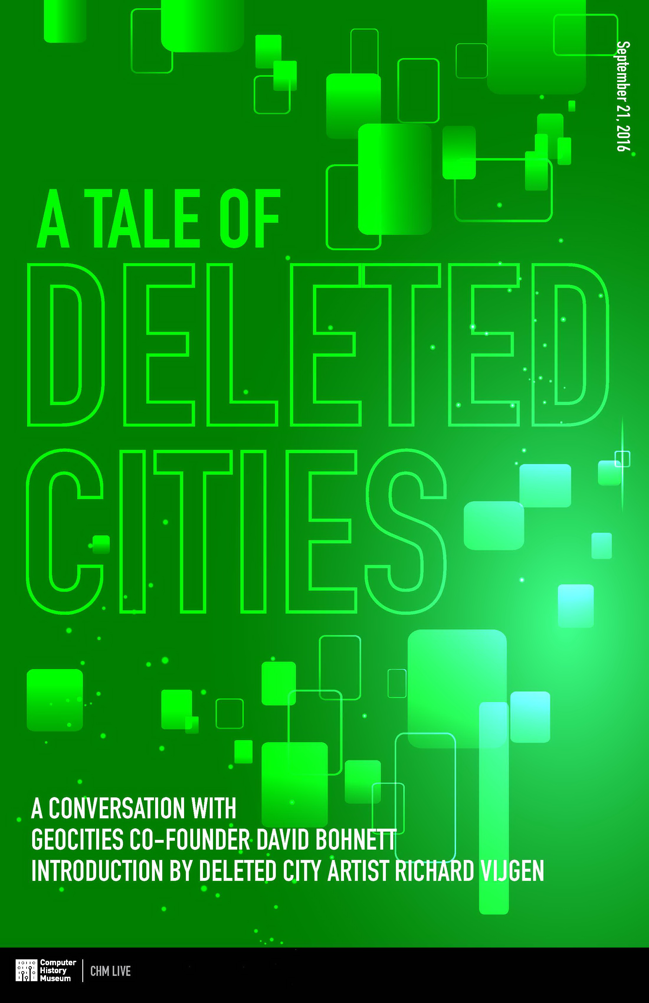 A Tale of Deleted Cities