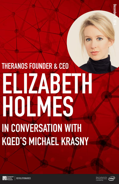 Theranos Founder & CEO Elizabeth Holmes in Conversation with KQED's Michael Krasny