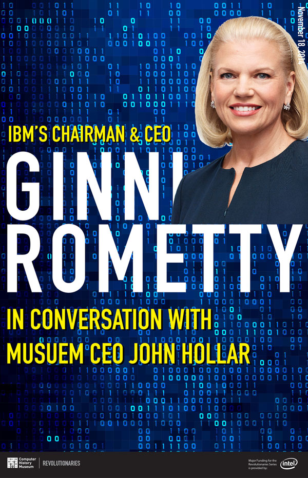 IBM's Ginni Rometty in Conversation with the Museum's John Hollar