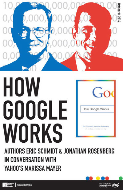 How Google Works: Authors Eric Schmidt & Jonathan Rosenberg in Conversation with Yahoo's Marissa Mayer