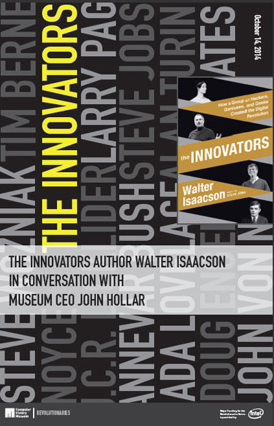 The Innovators Author Walter Isaacson in Conversation with Museum CEO John Hollar
